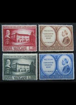 Vatikanas, pilna serija, MiNr 270-273 MNH**