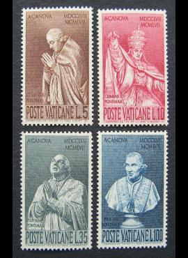 Vatikanas, pilna serija, MiNr 296-299 MNH**