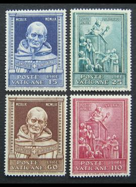 Vatikanas, pilna serija, MiNr 334-337 MNH**