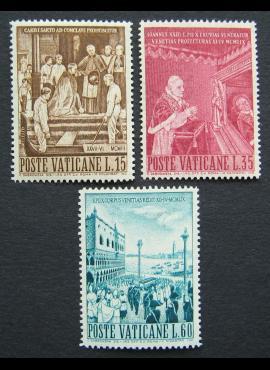 Vatikanas, pilna serija, MiNr 344-346 MNH**