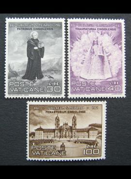 Vatikanas, pilna serija, MiNr 363-365 MNH**
