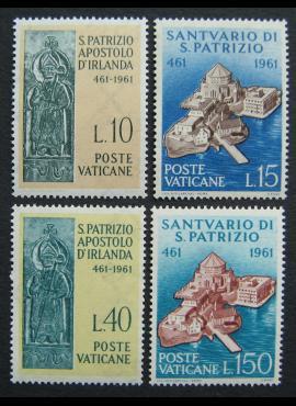 Vatikanas, pilna serija, MiNr 378-381 MNH**