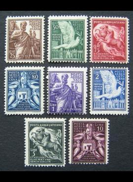 Vatikanas, pilna oro pašto serija, MiNr 59-66 MNH**