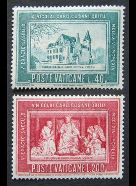 Vatikanas, pilna serija, MiNr 462-463 MNH**