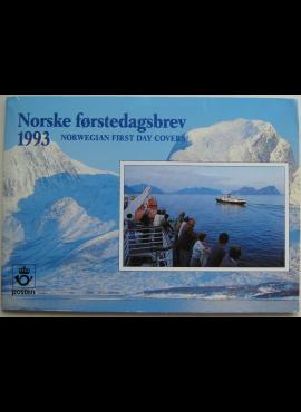 Norvegija, 1993 m. pašto ženklų kolekcija (MiNr 1114-1142)