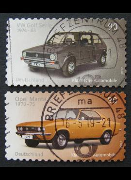 Vokietija, pilna serija, MiNr 3301-3302 Used (O)