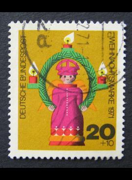 Vokietija, MiNr 709 Used (O)