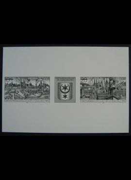 Vokietijos Demokratinė Respublika (VDR), pilna serija, MiNr W Zd 828 S MNG (*)