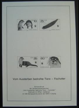 Vokietijos Demokratinė Respublika (VDR), pilna serija, MiNr 3107/3110 S MNG (*)