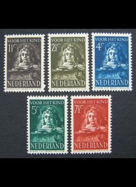 Nyderlandai, pilna serija MiNr 397-401 MNH**