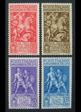Italija, pilna serija, MiNr 629-632 MNH**