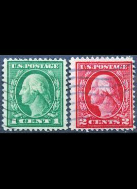 JAV, ScNr 405-406 Used(O)