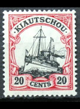 Vokietijos Reichas, Užsienio ir kolonijų paštas, Kiautšau, MiNr 32 MLH* V