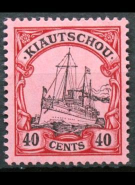 Vokietijos Reichas, Užsienio ir kolonijų paštas, Kiautšau, MiNr 33 MLH* V