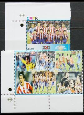 Paragvajus, pilna serija MiNr 5121-5122 MNH** V
