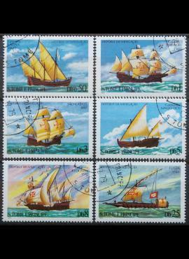 San Tomė ir Prinsipė, pilna serija ScNr 534-539 Used(O)
