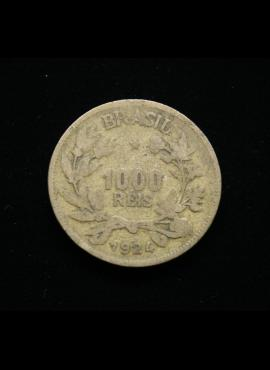 Brazilija, 1000 realų 1924m