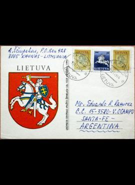 Lietuva 1992m atvirlaiškis