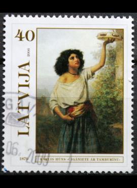 Latvija MiNr 675 Used(O) E