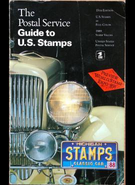 USPS 1989m JAV pašto ženklų katalogas G