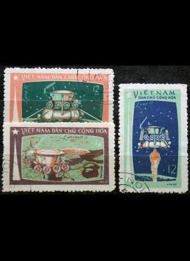 Šiaurės Vietnamas, pilna serija ScNr 641-643 Used(O) K