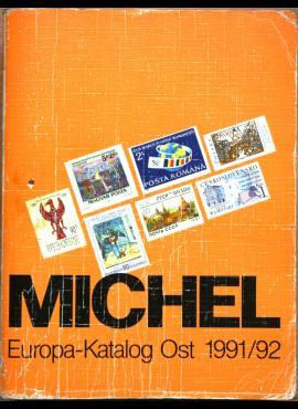 Michel 1991-1992m Rytų Europos pašto ženklų katalogas G