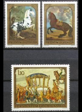 Lichtenšteinas, pilna serija ScNr 660-662 MNH**
