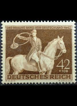 Vokietijos Reichas, MiNr 854 MLH*