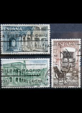 Ispanija, pilna serija ScNr 1324-1326 Used(O)