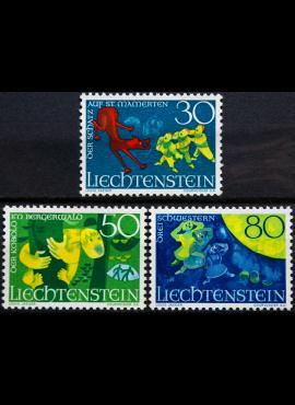 Lichtenšteinas, pilna serija ScNr 443-445 MNH**