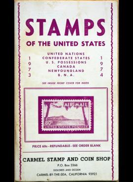 JAV pašto ženklų kišeninis katalogas G
