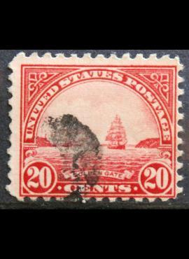 JAV ScNr 567 Used(O)