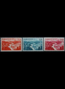 Saras, pilna oro pašto serija MiNr 252-254 MLH*