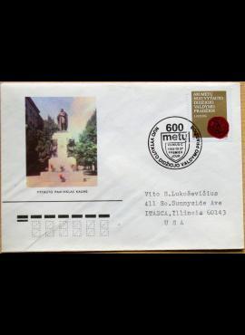Lietuva, 1993m pirmos dienos vokas su MiNr 519 G