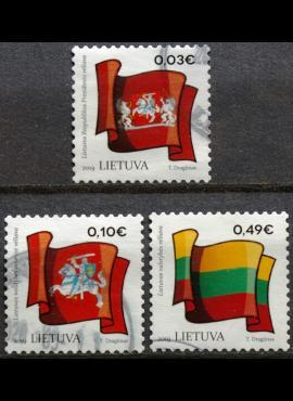 Lietuva, pilna serija MiNr 1300-1302 Used(O)