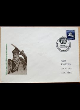Lietuva, 1993m pirmos dienos vokas su MiNr 466 G