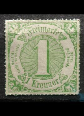 Senoji Vokietija, Thurn und Taxis, 1866m, MiNr 51 MNH**
