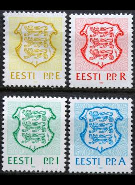 Estija pilna serija MiNr 176-179 MNH**