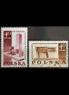 Lenkija, pilna serija ScNr 1488-1489 Used(O)
