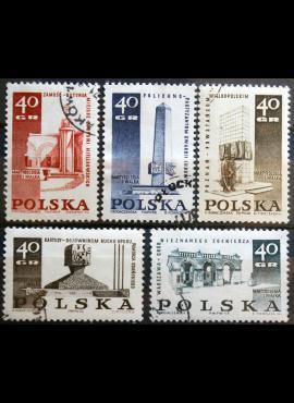 Lenkija, pilna serija ScNr 1620-1624 Used(O)
