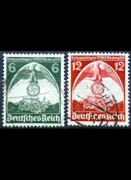 Vokietijos Reichas, pilna serija MiNr 111-112 MNH**