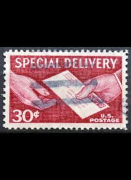 JAV, spec. pristatymas ScNr E21 Used(O)