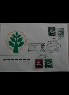 Lietuva, 1990m ženklinis vokas KvNr C3 G