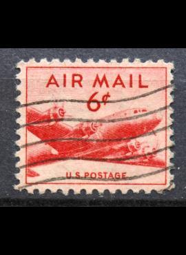 JAV, oro paštas ScNr C39 Used(O)