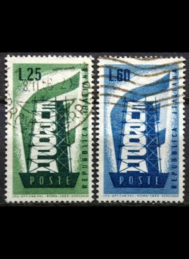 Italija, pilna serija ScNr 715-716 Used(O)