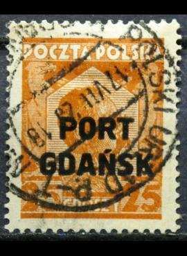 Lenkija, Gdanskas ScNr 1K18 Used(O)