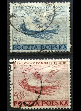Lenkija, pilna serija ScNr 487-488 Used(O)