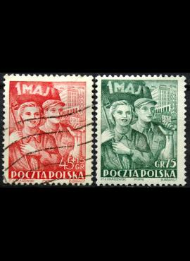 Lenkija, pilna serija ScNr B70, 540 Used(O)/MNH**