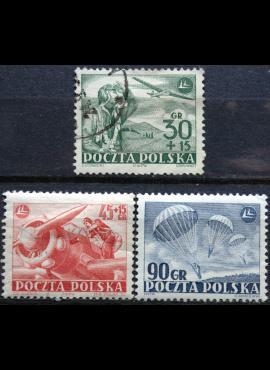 Lenkija, pilna serija ScNr 557, B86-B87 Used(O)