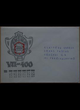Dailininko A. Šakalio 1979m kolekcinis vokas Nr. 2A G